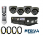 MOK4AMER01 - KIT MÓVIL MM803KIT DVR MD805 + 4 CAM MC301 TRANSMISIÓN 3G